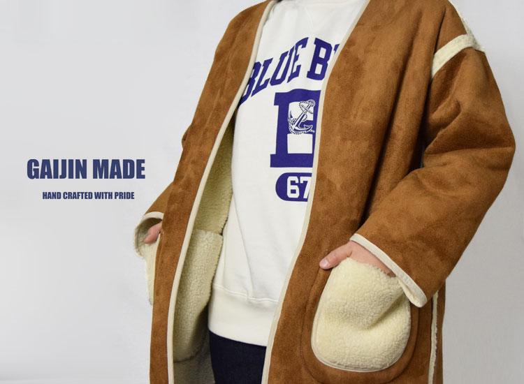 画像2: 【レディース】ガイジンメイド(GAIJIN MADE)2018年秋冬モデル エコマウンテン リバーシブルコート (2)