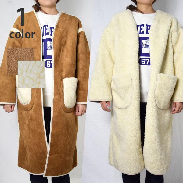 画像1: 【レディース】ガイジンメイド(GAIJIN MADE)2018年秋冬モデル エコマウンテン リバーシブルコート (1)
