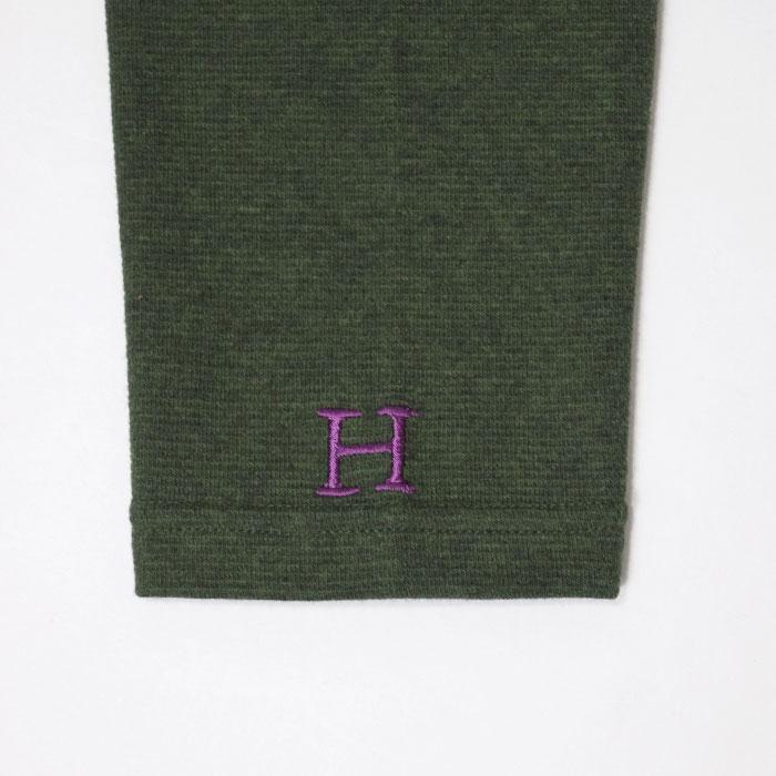 画像2: 【全カラー・全サイズ展開】ハリウッドランチマーケット 『ストレッチフライス ハーフスリーヴTシャツ カラー:D GREEN』 (2)