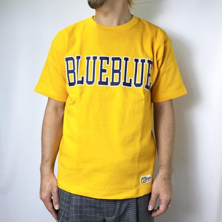 画像2: 【メンズ】ラッセル・ブルーブルー(RUSSELL・BLUEBLUE)RUSSELL・BLUE BLUE カレッジロゴ Tシャツ (2)