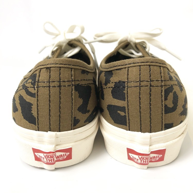 画像3: 【スニーカー】 VANS(バンズ/ヴァンズ) AUTHENTIC 44 DX (ANAHEIM FACTORY) OG LEOPARD (3)
