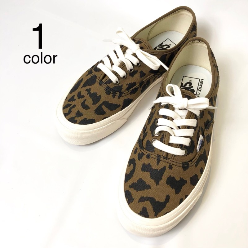 画像1: 【スニーカー】 VANS(バンズ/ヴァンズ) AUTHENTIC 44 DX (ANAHEIM FACTORY) OG LEOPARD (1)