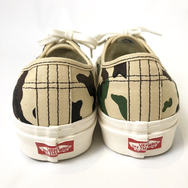 画像3: 【スニーカー】 VANS(バンズ/ヴァンズ) AUTHENTIC 44 DX (ANAHEIM FACTORY) OG CAMO (3)