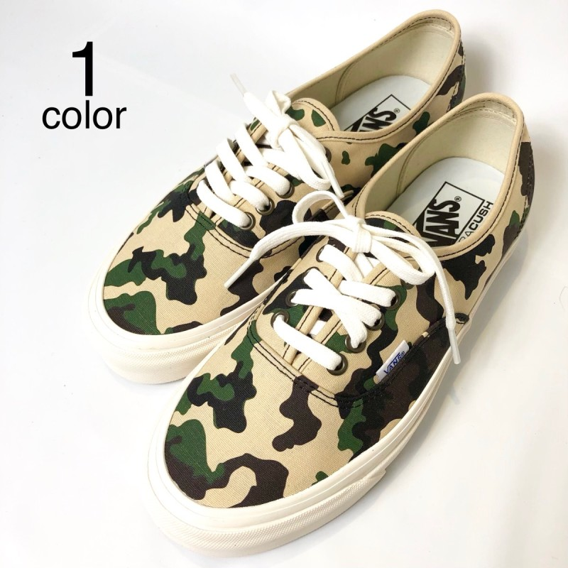 画像1: 【スニーカー】 VANS(バンズ/ヴァンズ) AUTHENTIC 44 DX (ANAHEIM FACTORY) OG CAMO (1)