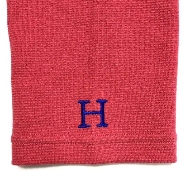 画像2: 【全カラー・全サイズ展開】ハリウッドランチマーケット 『ストレッチフライス ハーフスリーヴTシャツ カラー:SCARLET』 (2)