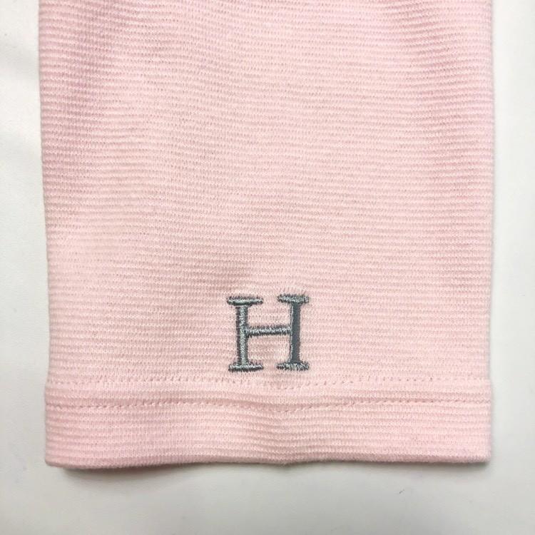 画像2: 【全カラー・全サイズ展開】ハリウッドランチマーケット 『ストレッチフライス ハーフスリーヴTシャツ カラー:S PINK』 (2)