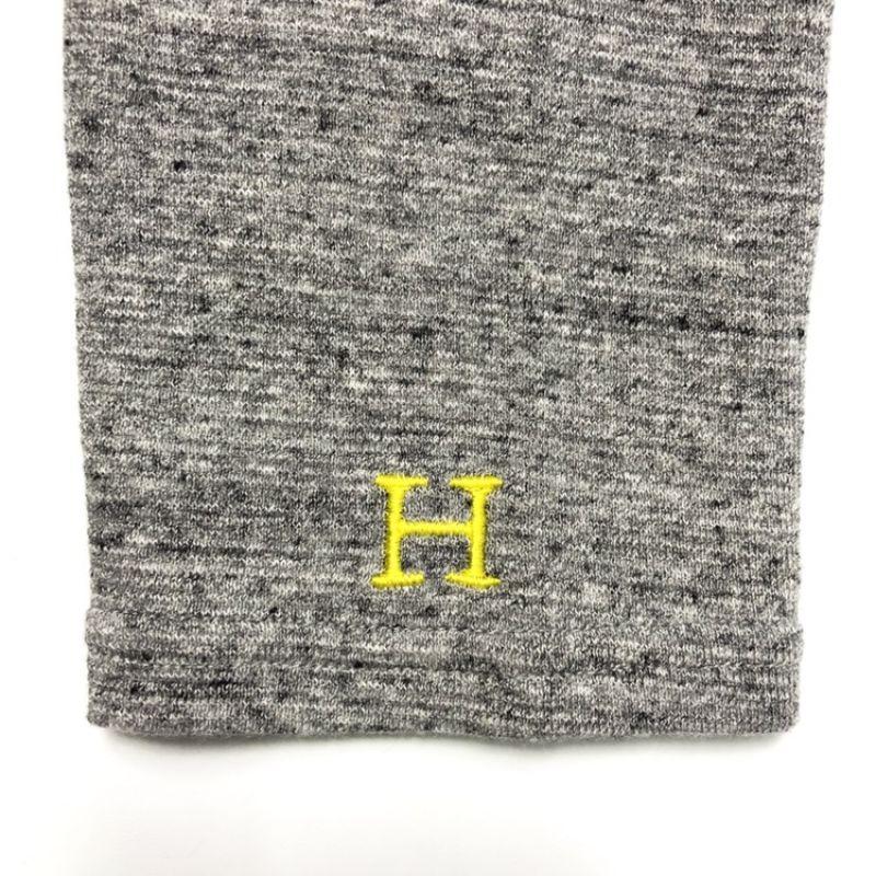 画像2: ハリウッドランチマーケット 『ストレッチフライス レディース ボートネック ハーフスリーブTシャツ カラー:GREY』 (2)