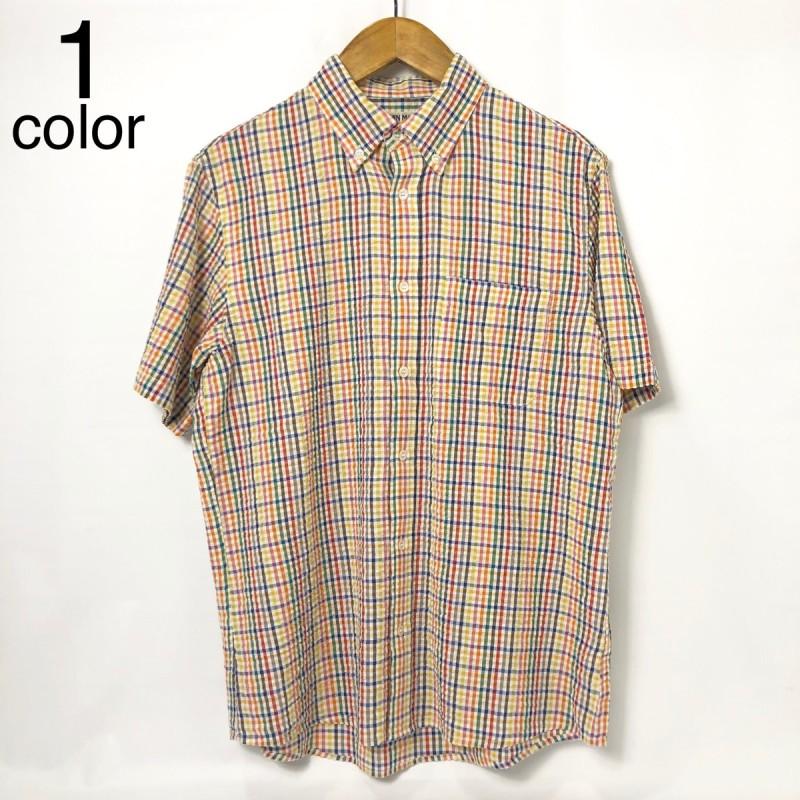 画像1: 【メンズ】ガイジンメイド(GAIJIN MADE)カラフルシアサッカー ボタンダウンシャツ (1)