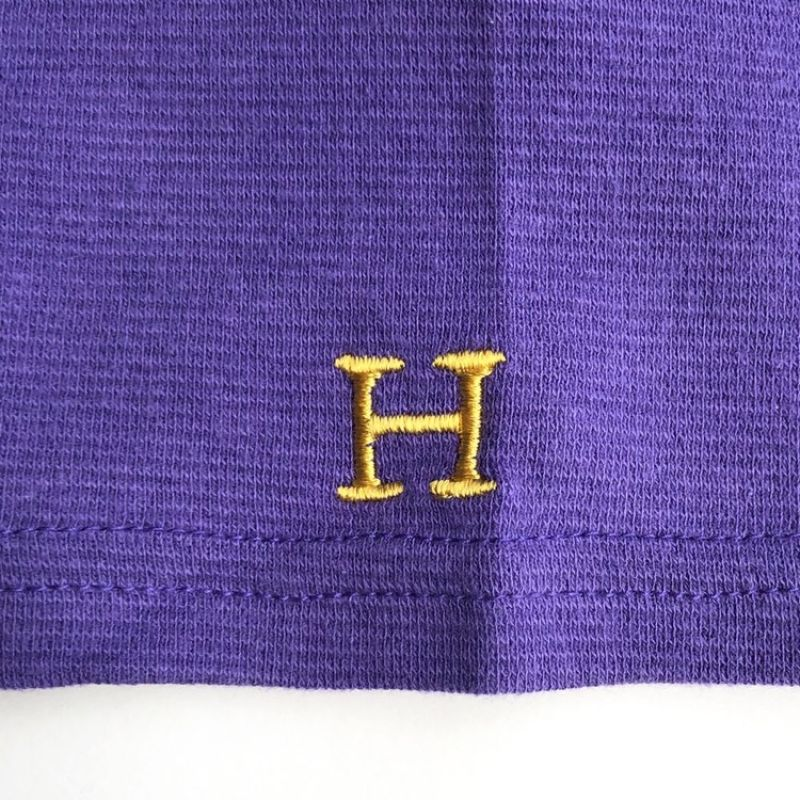 画像3: ハリウッドランチマーケット 『ストレッチフライス レディース ボートネック ハーフスリーブTシャツ カラー:PURPLE』 (3)