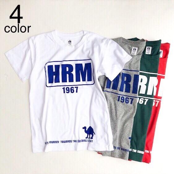 画像1: 【メンズ】ハリウッドランチマーケット(HOLLYWOOD RANCH MARKET )HRMフレーム ショートスリーブTシャツ (1)
