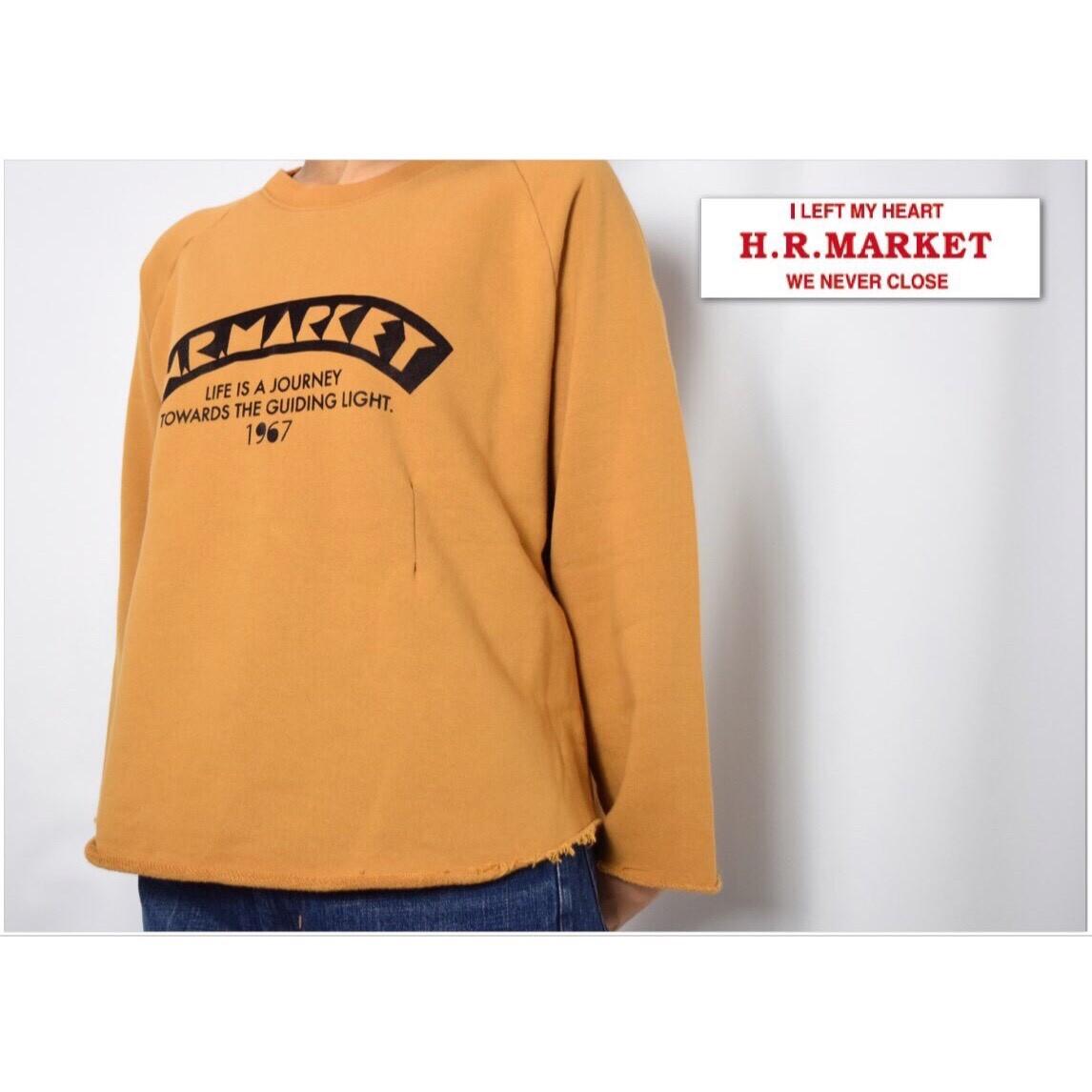 画像2: 【レディース】ハリウッドランチマーケット(HOLLYWOOD RANCH MARKET)サインボードフロッキープリント タックスウェット ウイメンズ (2)