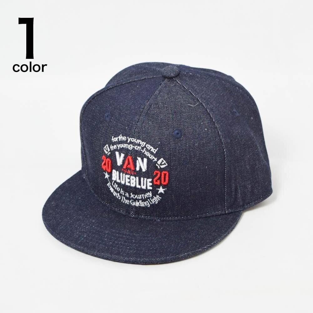 画像1: 【小物・雑貨】ヴァンジャケット・ブルーブルー(VAN JACKET・BLUE BLUE)VAN JACKET・BLUE BLUE デニム ベースボールキャップ (1)