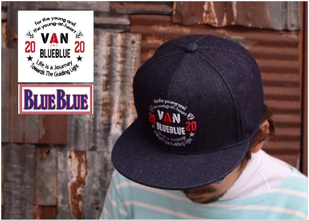 画像2: 【小物・雑貨】ヴァンジャケット・ブルーブルー(VAN JACKET・BLUE BLUE)VAN JACKET・BLUE BLUE デニム ベースボールキャップ (2)
