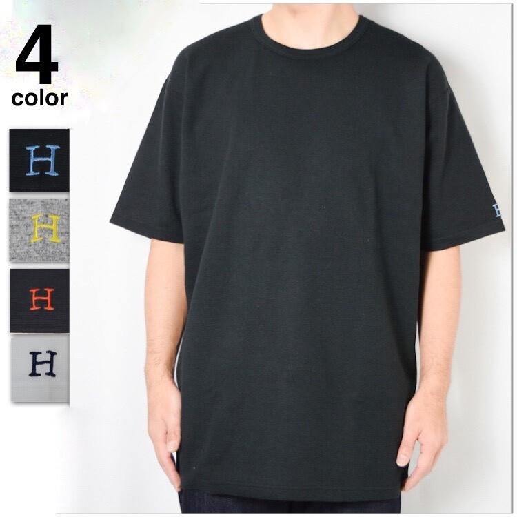 画像1: 【メンズ・レディース】ハリウッドランチマーケット ストレッチフライス ルースショートスリーブTシャツ (1)