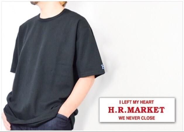 画像2: 【メンズ・レディース】ハリウッドランチマーケット ストレッチフライス ルースショートスリーブTシャツ (2)