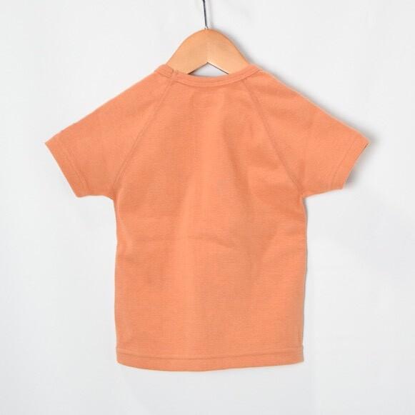 画像2: 【キッズ】ハリウッドランチマーケット 『ストレッチフライス キッズショートスリーヴTシャツ カラー:ORANGE』SFYO (2)