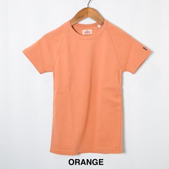 画像1: 【全カラー・全サイズ展開】ハリウッドランチマーケット 『ストレッチフライス ショートスリーヴTシャツ カラー:ORANGE』SFYO (1)