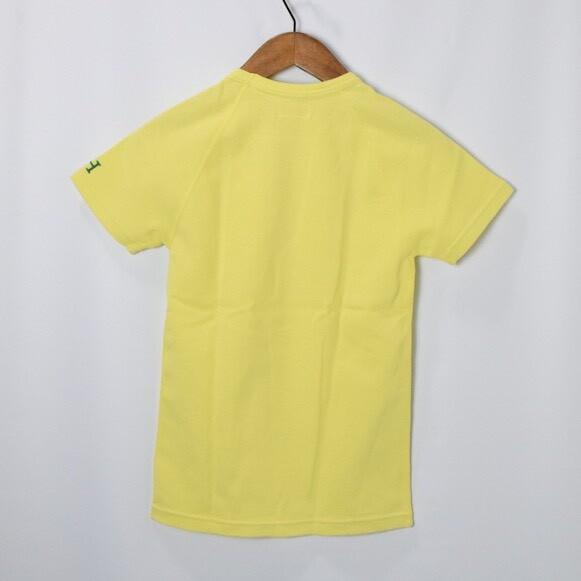 画像2: HOLLYWOOD RANCH MARKET 『ストレッチフライス ショートスリーヴTシャツ カラー:YELLOW』 (2)