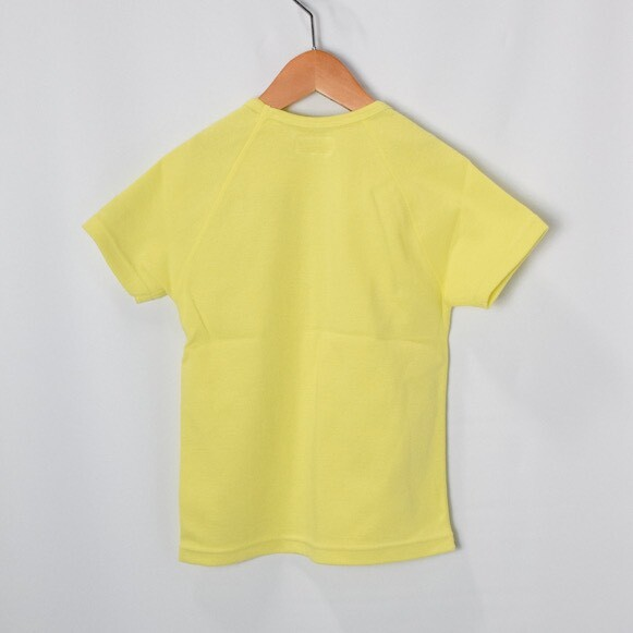 画像2: 【キッズ】ハリウッドランチマーケット 『ストレッチフライス キッズショートスリーヴTシャツ カラー:YELLOW』SFYO (2)