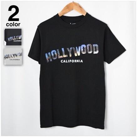 画像1: 【メンズ】スクリーンスターズ・ハリウッドランチマーケット(SCREEN STARS・HRM)SCREEN STARS HRM PALM TREE HOLLYWOOD Tシャツ (1)