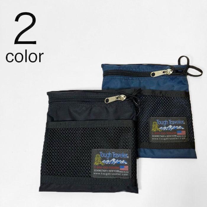 画像1: 【小物・雑貨】タフ トラベラー(Tough Traveler) Large Pouch With Mesh Pocket (1)